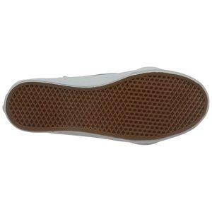 Vans Shoes - Vans hi top zip leather zephyr blue white 8.5 shoe